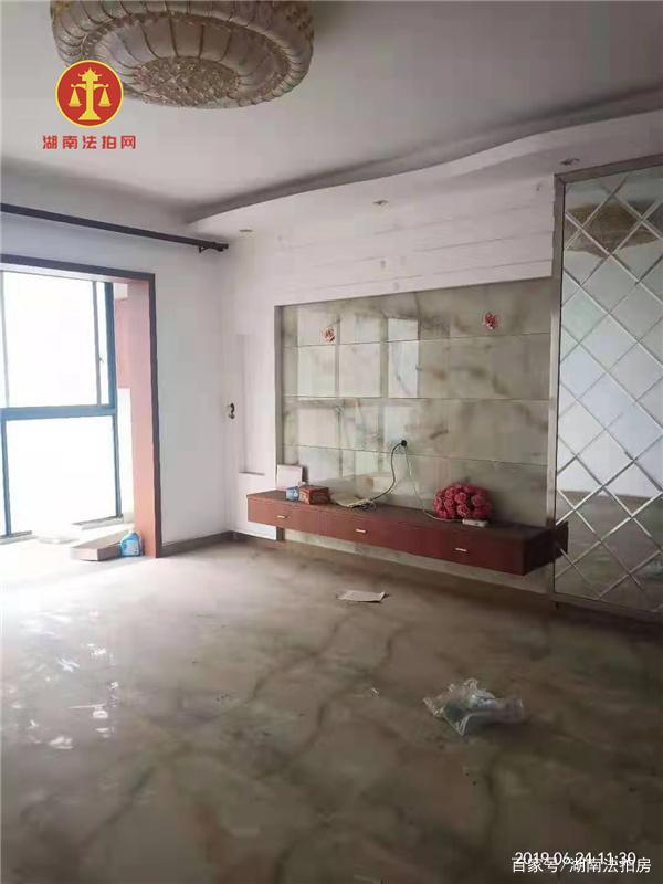 长沙市开福区湘江世纪城法拍房成交案例!